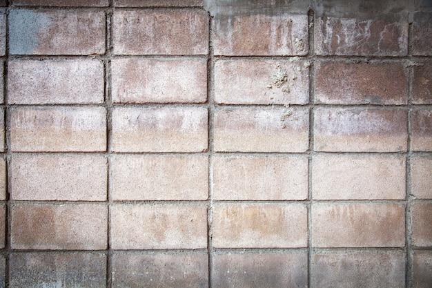 Fondo e struttura della parete del blocchetto di cenere