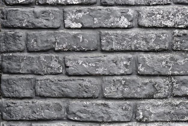 Fondo grigio di struttura del muro di mattoni. texture e concetto di sfondo.