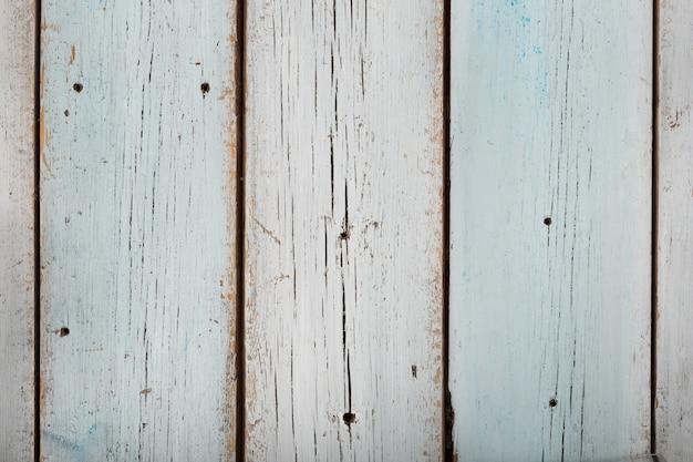 Fondo in legno azzurro, consistenza del vecchio tavolo in legno