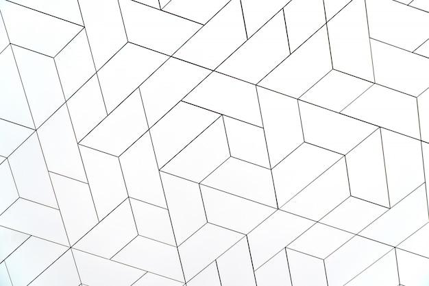 Fondo moderno bianco del modello di struttura