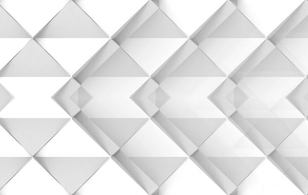 Fondo moderno di arte di carta del quadrato di griglia bianca di progettazione