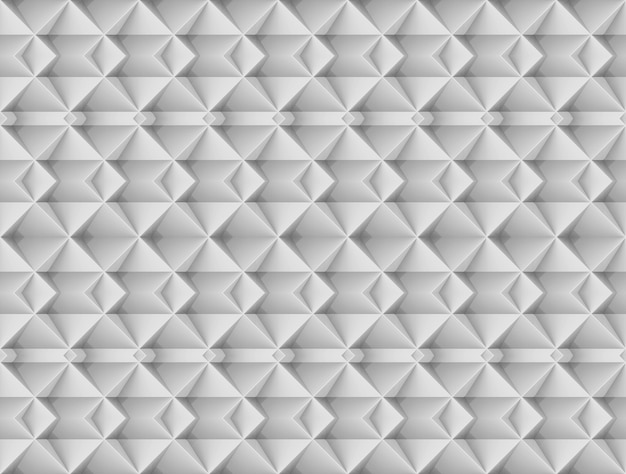 Fondo moderno senza cuciture della parete del modello di arte di griglia del quadrato grigio.