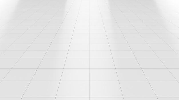 Fondo pulito delle mattonelle di ceramica del marmo bianco del pavimento