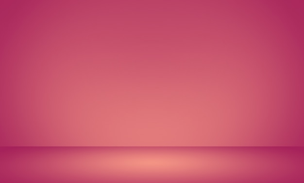 Fondo rosa-chiaro liscio astratto astratto della stanza dello studio