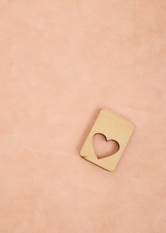 Fondo rosa della carta da parati di idee della carta del biglietto di s. valentino