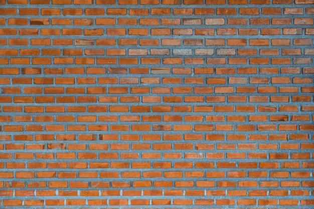 Fondo rosso del frammento del muro di mattoni o struttura della costruzione di strato del mattone.