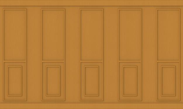 Fondo semplice della parete del modello classico di legno marrone.
