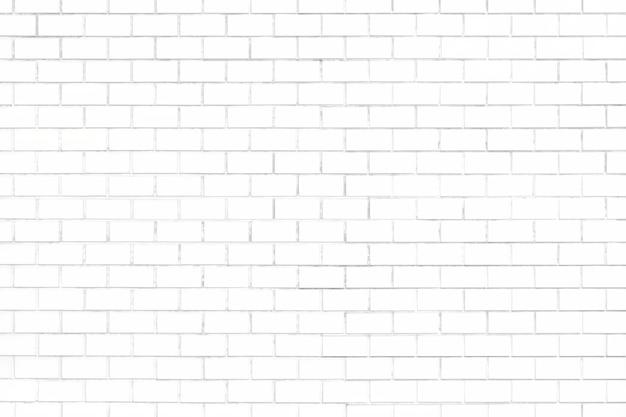 Fondo strutturato del muro di mattoni bianco