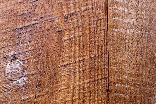 Fondo strutturato di legno marrone di vecchio lerciume.