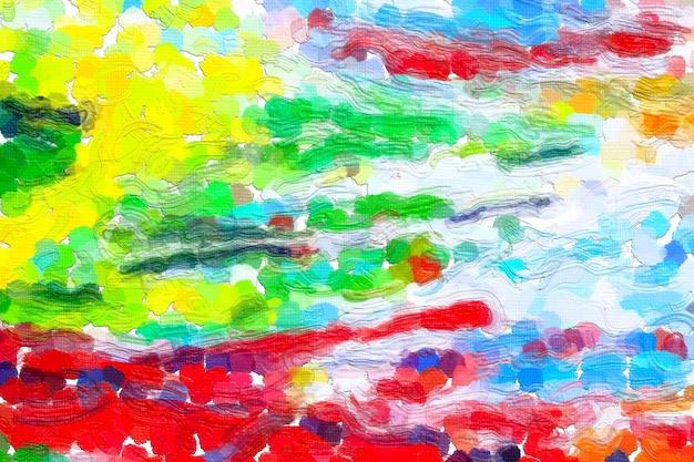 Fondo variopinto della pittura ad olio astratta