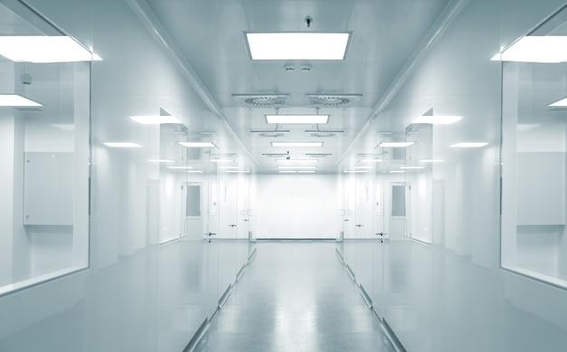 Fondo vuoto dell'ambiente di fabbrica moderno