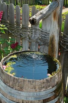 Fontana di legno