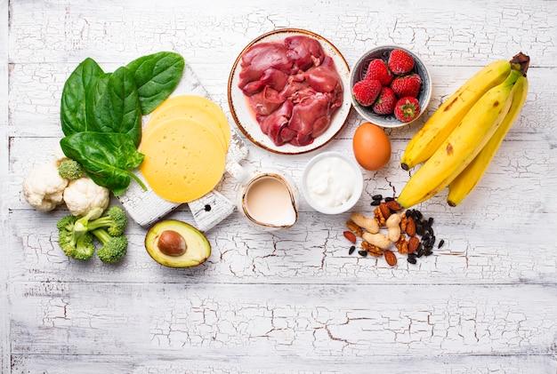 Fonti naturali di biotina di vitamina b7