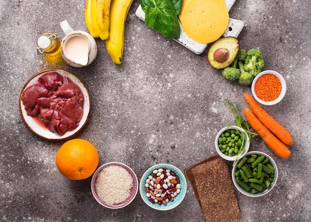 Fonti naturali di vitamina b9