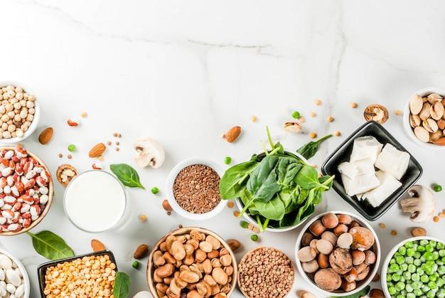 Fonti proteiche vegane