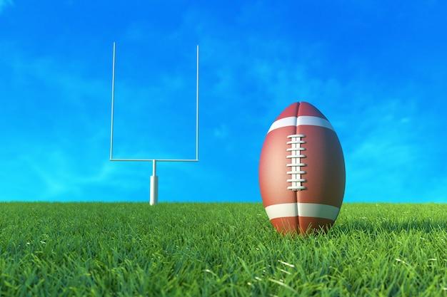 Football americano sul campo