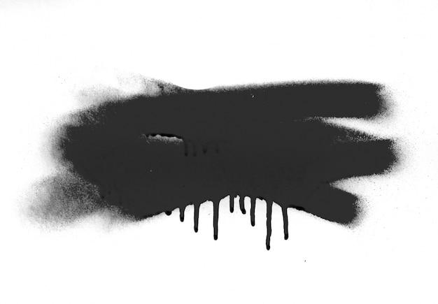 Forma elemento splattered spazzola struttura