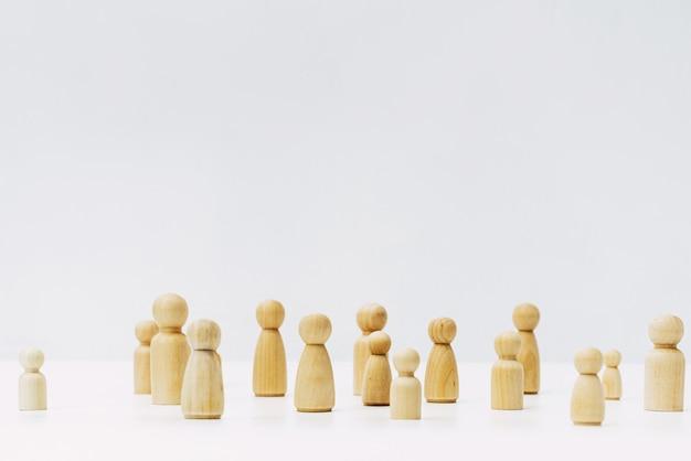 Forme di persone raggruppate nella comunità di solidarietà