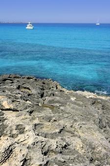 Formentera turquoise seascape balearic mediterranean