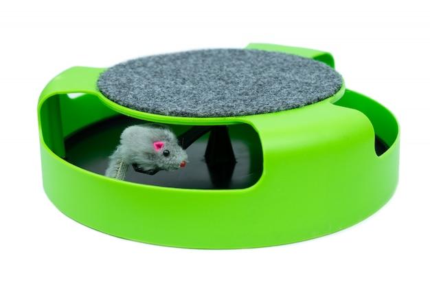 Forniture per animali domestici giocattolo del mouse per gatti animali domestici / giocattoli per gatti per unghie