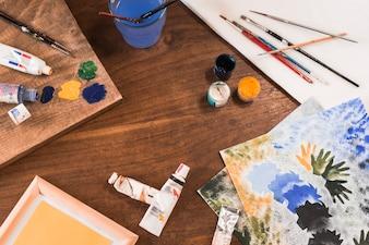Pittura su vetro 2 scaricare foto gratis - Mollettone per stirare sul tavolo ...