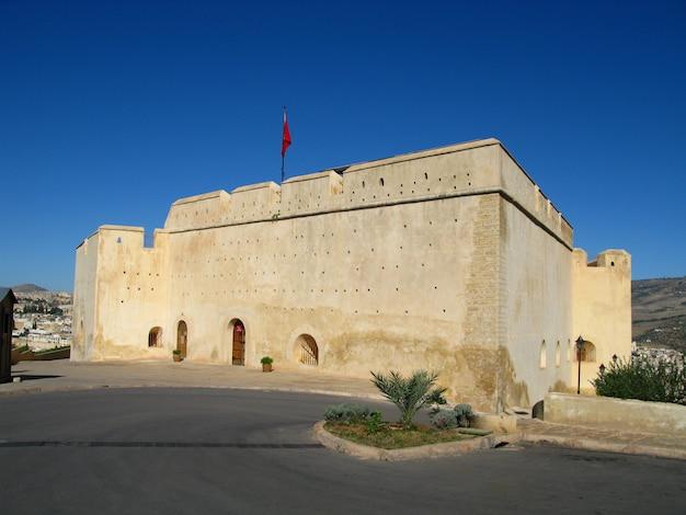 Fortezza di fez, in marocco