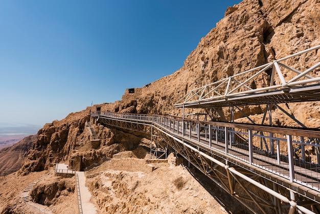 Fortezza di messada in israele
