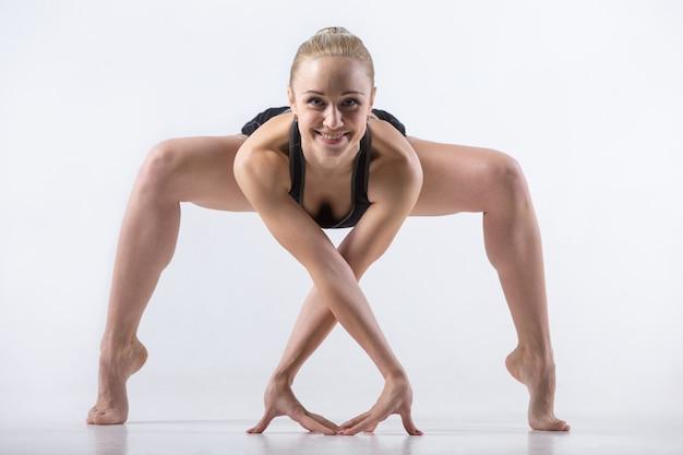 Forza di piegatura esercizio di squat