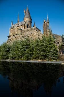Foto del castello di hogwarts.