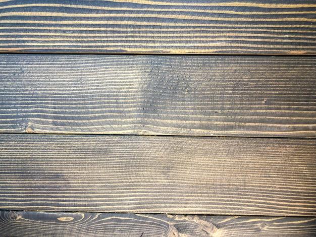 Foto di sfondo di legno verniciato nero, struttura di legno.