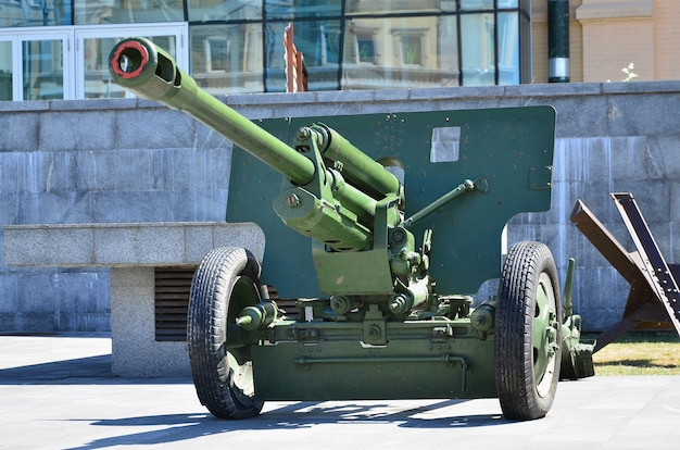 Foto di un'arma portatile dell'unione sovietica della seconda guerra mondiale