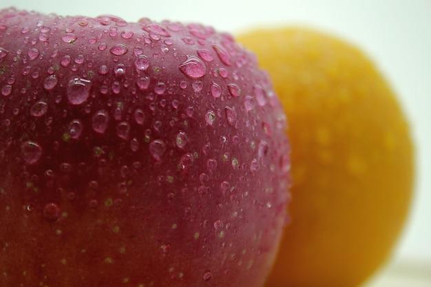 Foto fresche di agrumi e mele 2