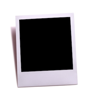 Foto istantanea in stile polaroid