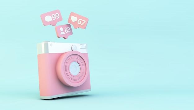 Fotocamera con notifiche