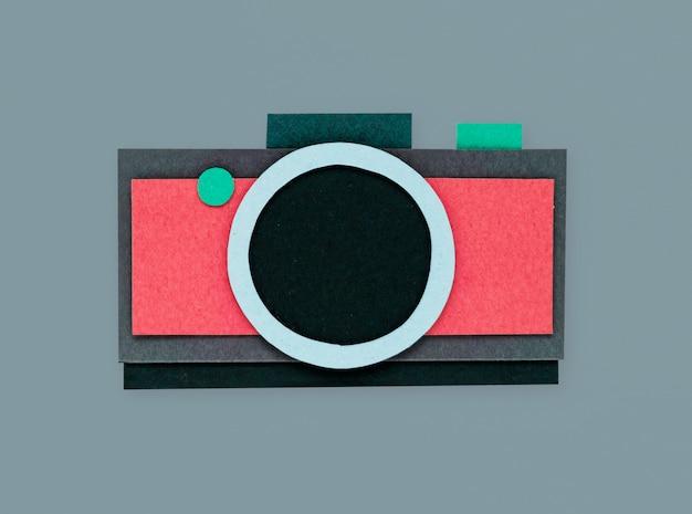 Fotocamera digitale scattare foto icona