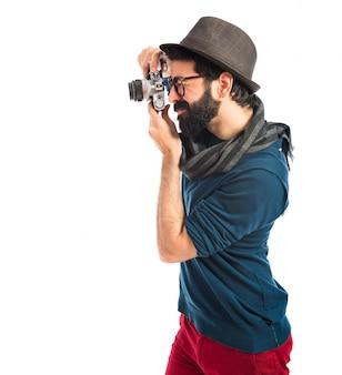 Fotografare l'uomo