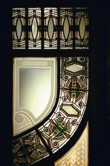 Foyer d'ingresso architettura liberty finestra arte