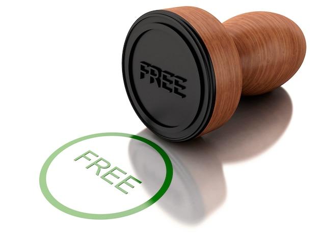 Francobollo 3d gratuito