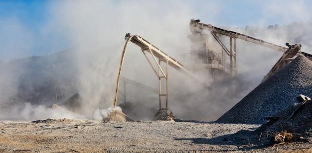 Frantumatore industriale - frantumatore per pietre di roccia