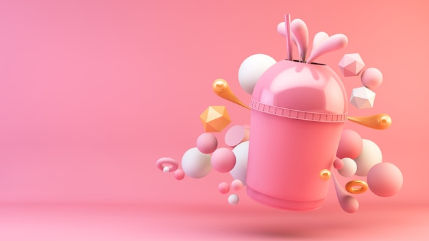 Frappè rosa