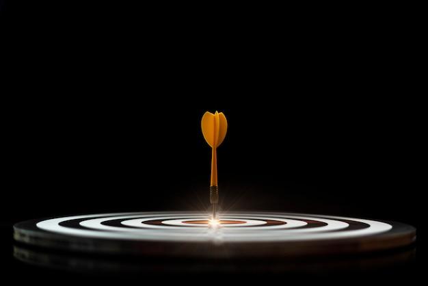 Freccia sull'impostazione dell'obiettivo idee del tabellone segnapunti
