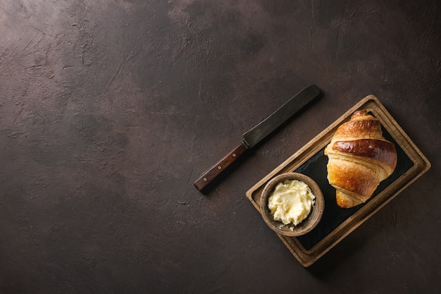 Fresco croissant al forno
