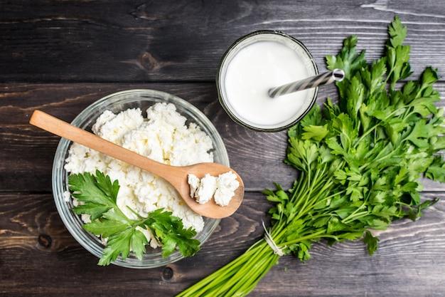 Fresco yogurt e ricotta fatti in casa