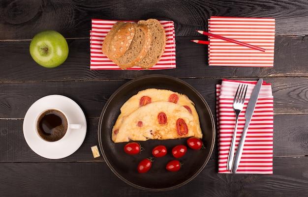 Frittata ai pomodori