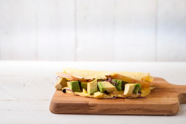 Frittata di avocado