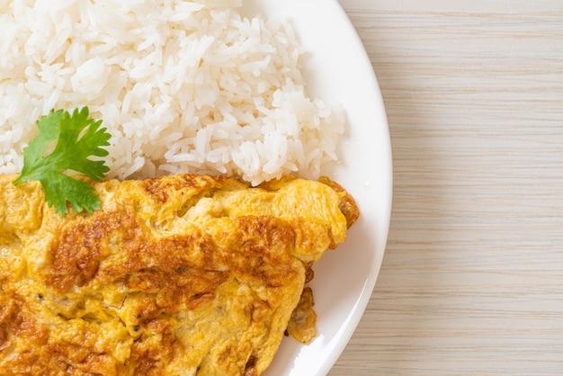 Frittata o frittata con riso