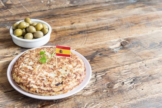 Frittata spagnola tipica tapa