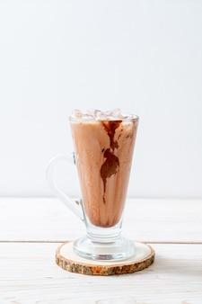Frullato al cioccolato ghiacciato