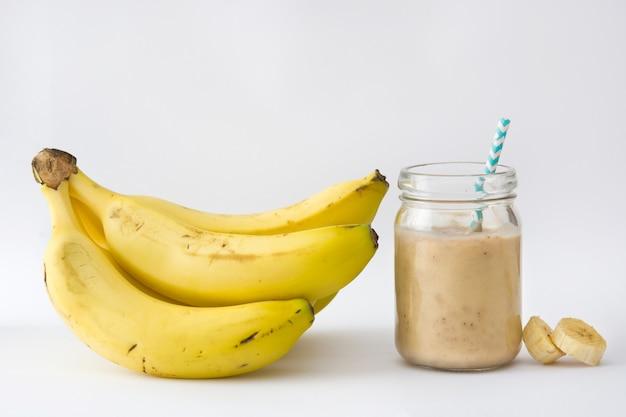 Frullato di banana salutare