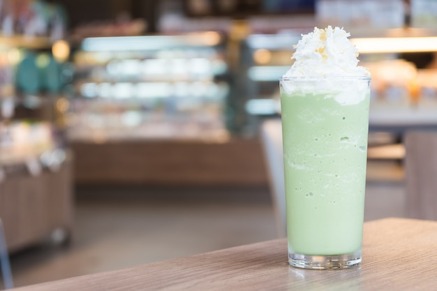 Frullato di tè verde